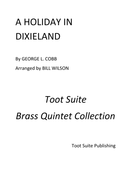 A Holiday in Dixieland