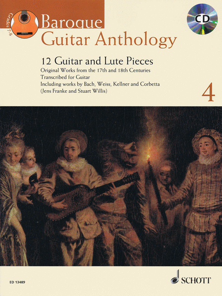 Baroque Guitar Anthology - Volume 4
