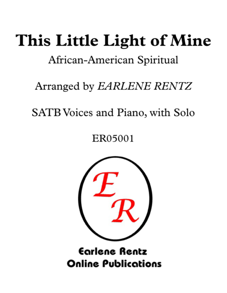 This Little Light of Mine - SATB