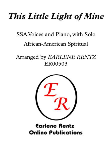 This Little Light of Mine - SSA