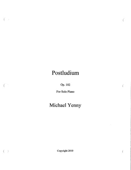 Postludium, op. 102