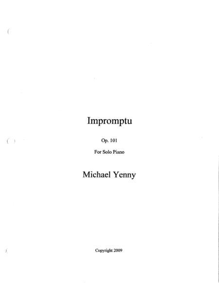 Impromptu, op. 101