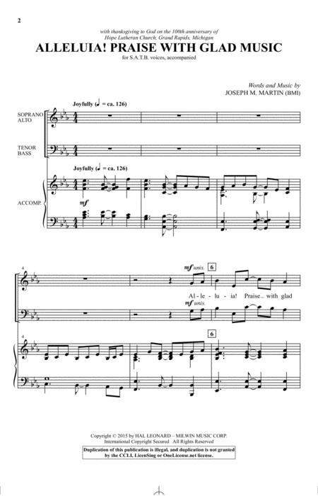 Alleluia! Praise With Glad Music