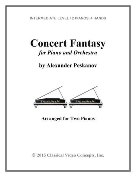 Concert Fantasy for Piano and Orchestra