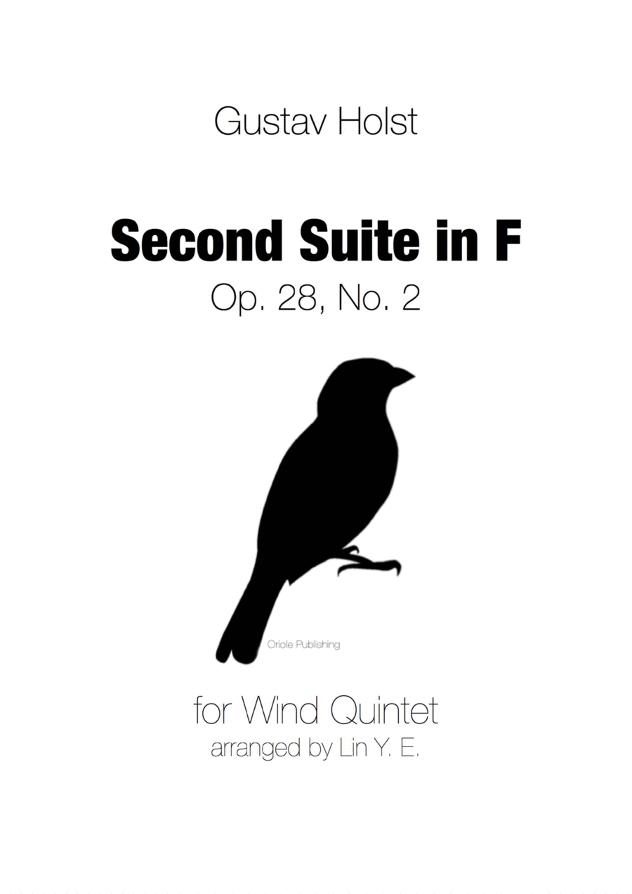 Holst - Second Suite in F for Military Band - Complete (arr. for Wind Quintet)