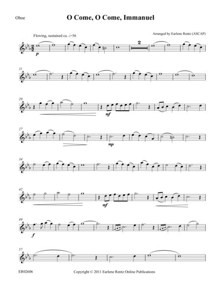 O Come, O Come, Immanuel (Oboe)