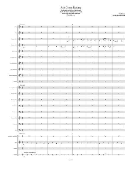 the ash grove sheet music pdf