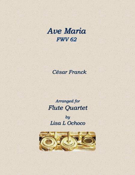 Ave Maria for Flute Quartet