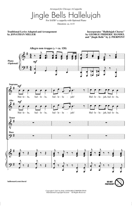 Jingle Bell Hallelujah