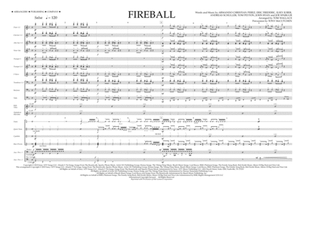 Fireball - Full Score