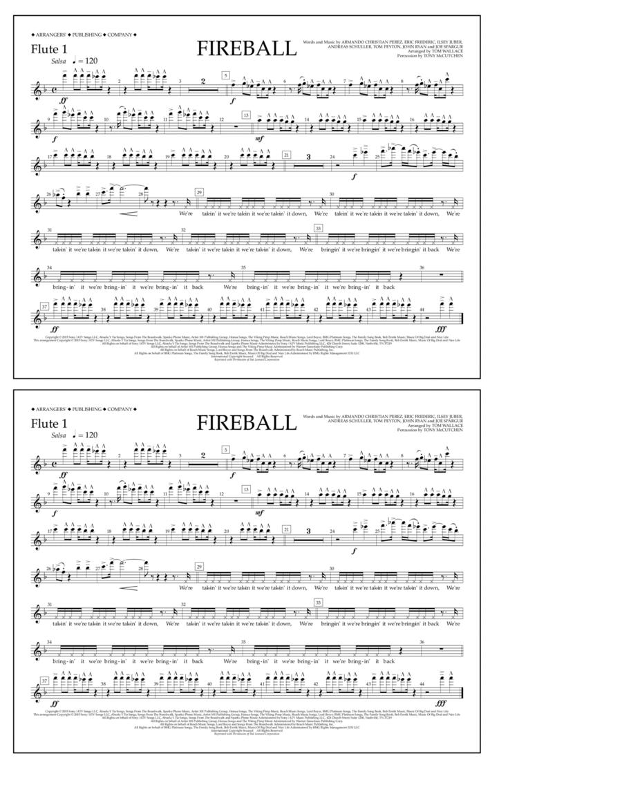 Fireball - Flute 1