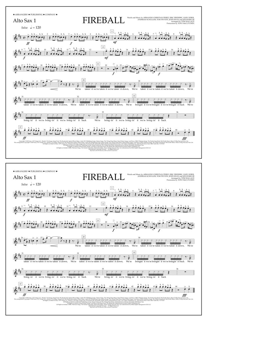 Fireball - Alto Sax 1