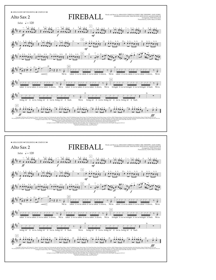 Fireball - Alto Sax 2