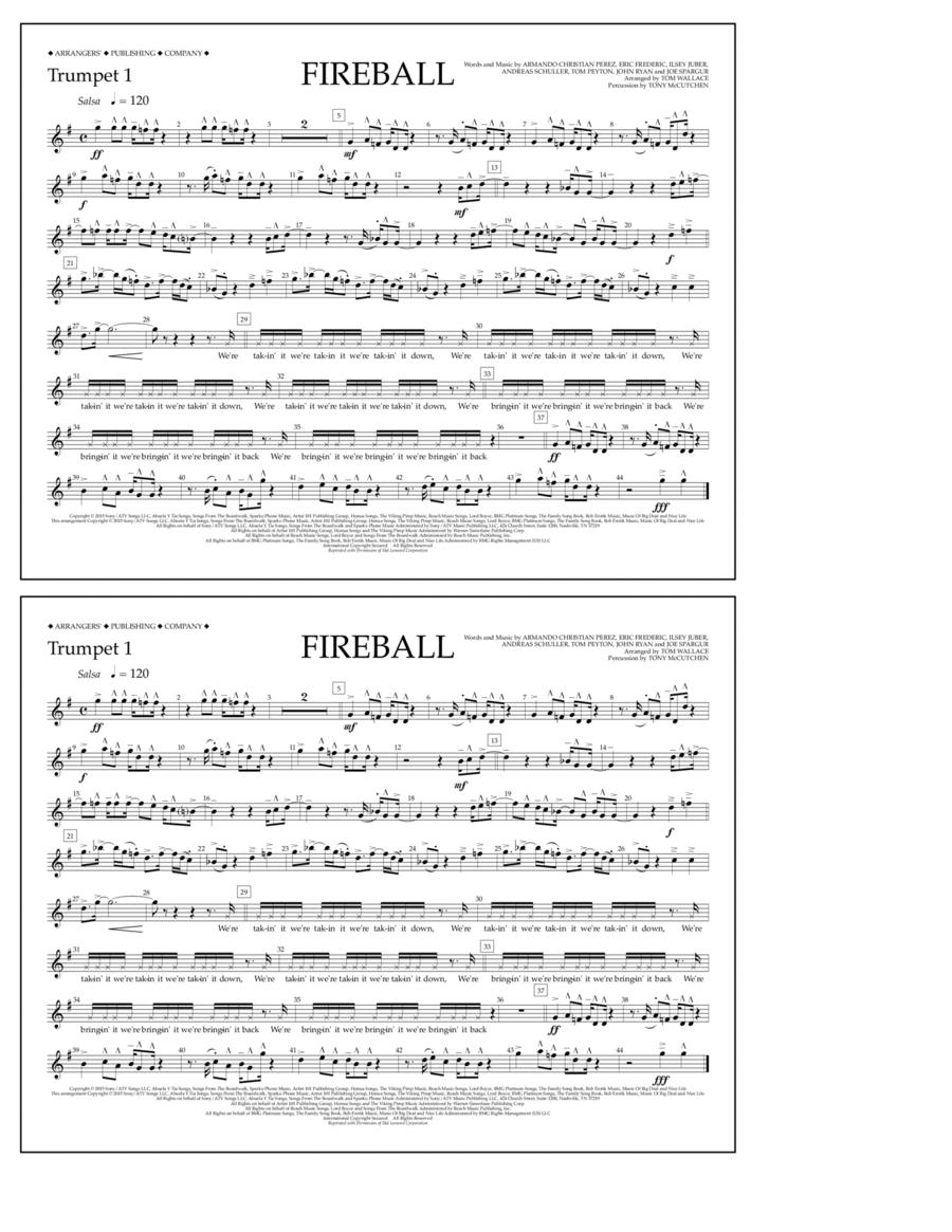 Fireball - Trumpet 1
