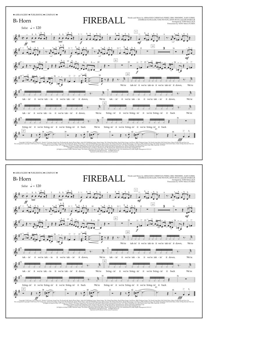 Fireball - Bb Horn
