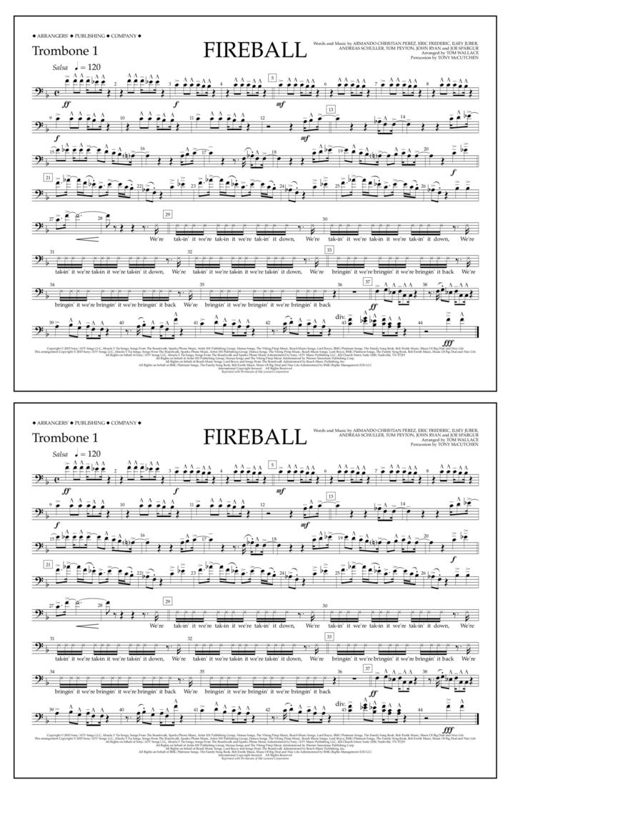 Fireball - Trombone 1
