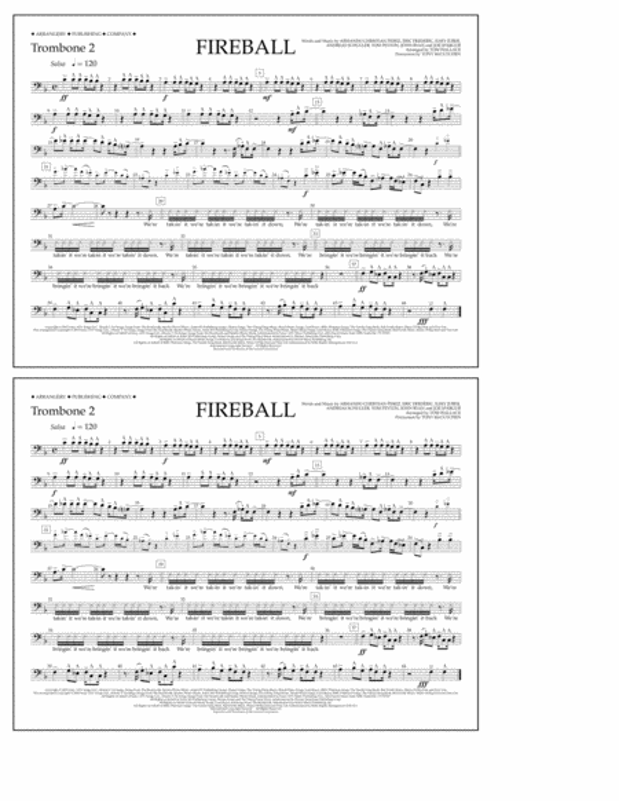 Fireball - Trombone 2