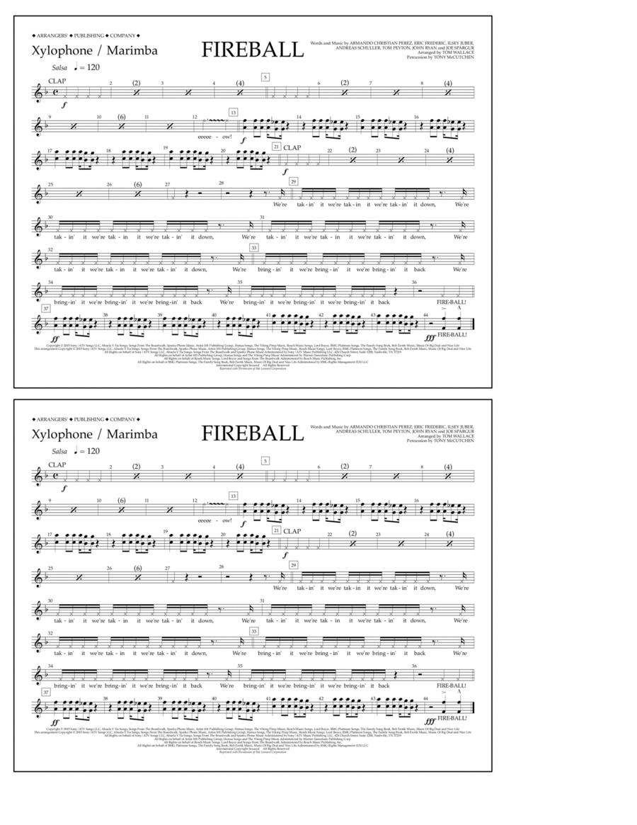Fireball - Xylophone/Marimba