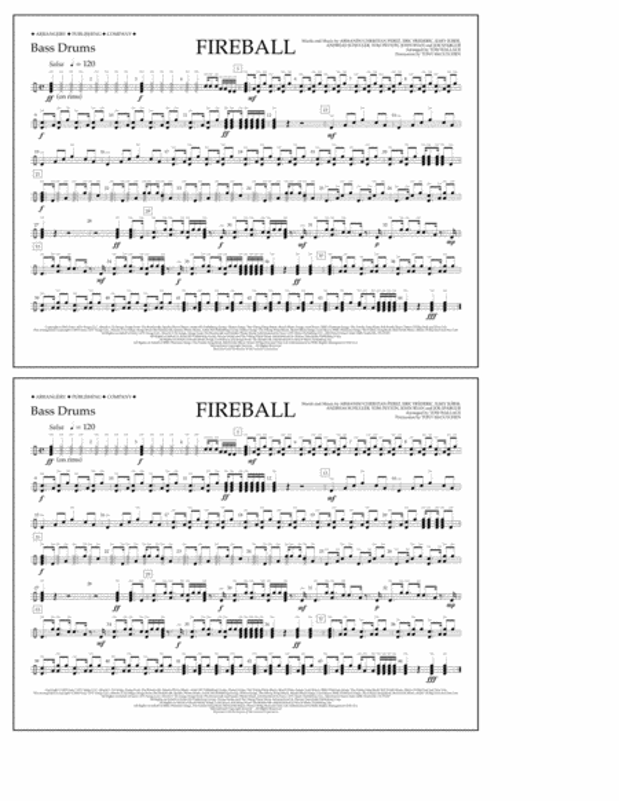 Fireball - Bass Drums