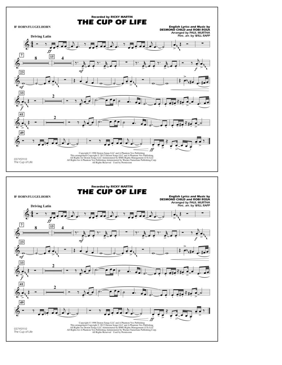 The Cup of Life - Bb Horn/Flugelhorn