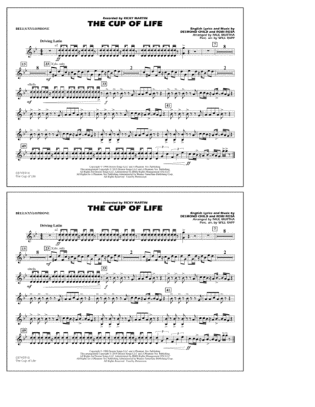 The Cup of Life - Bells/Xylophone