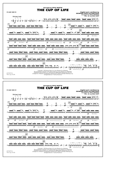 The Cup of Life - Snare Drum