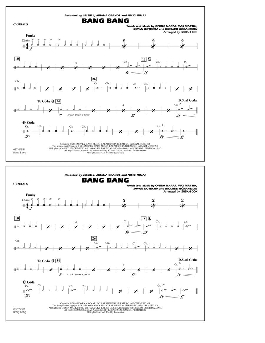 Bang Bang - Cymbals