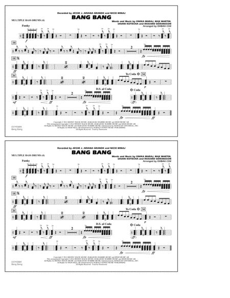 Bang Bang - Multiple Bass Drums