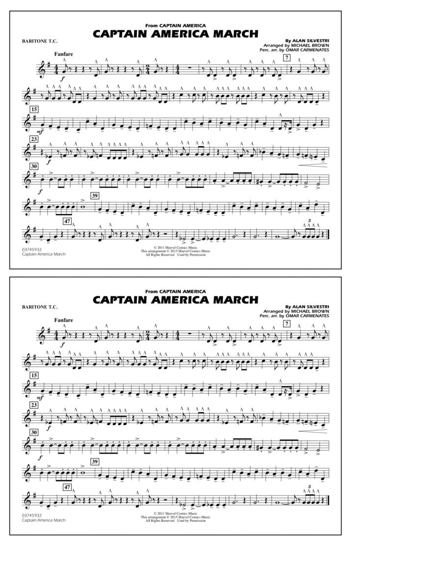 Captain America March - Baritone T.C.