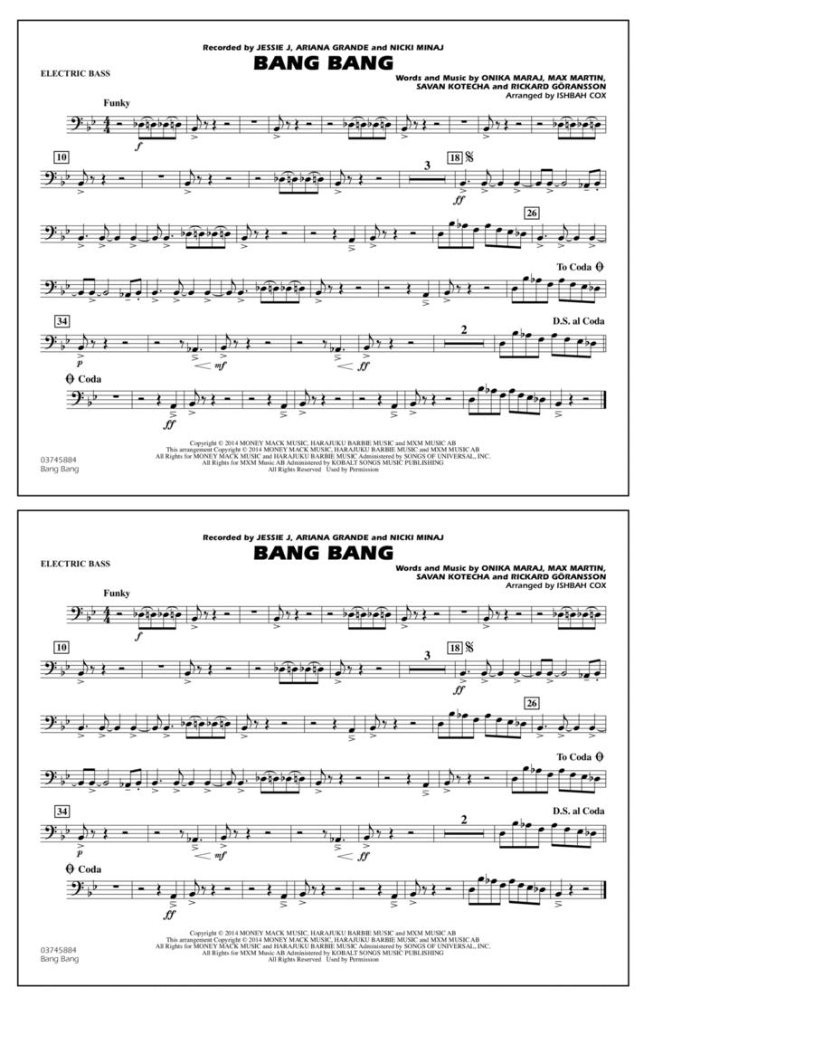 Bang Bang - Electric Bass