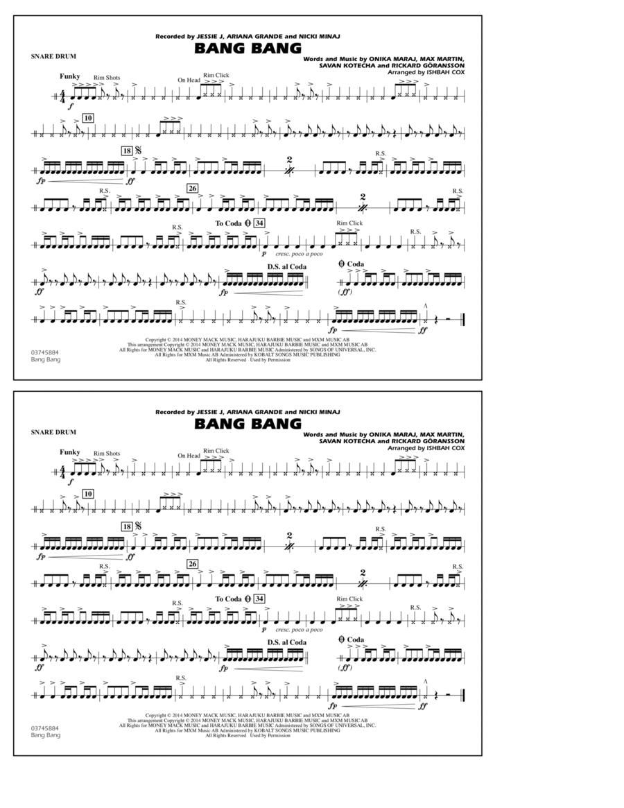 Bang Bang - Snare Drum