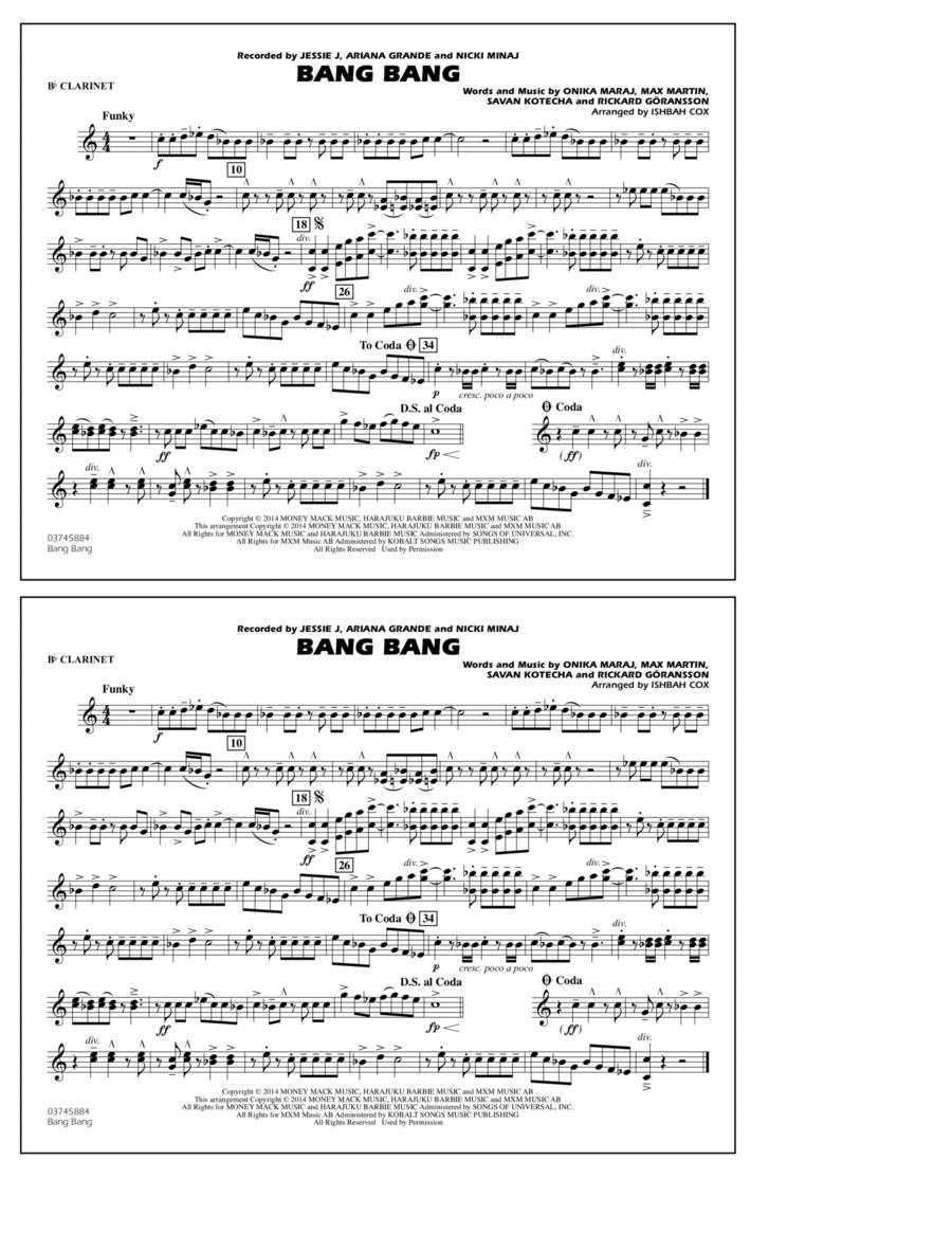 Bang Bang - Bb Clarinet
