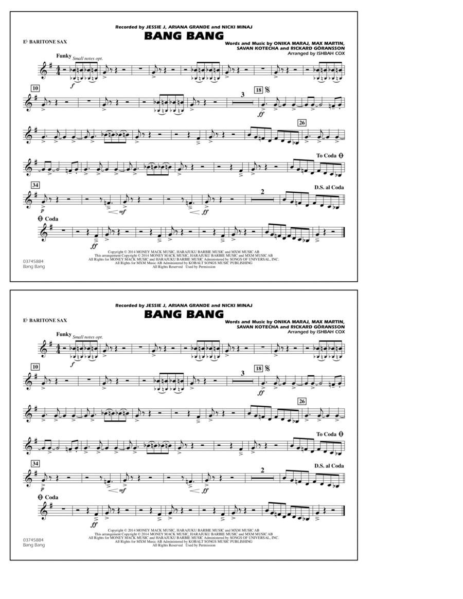 Bang Bang - Eb Baritone Sax