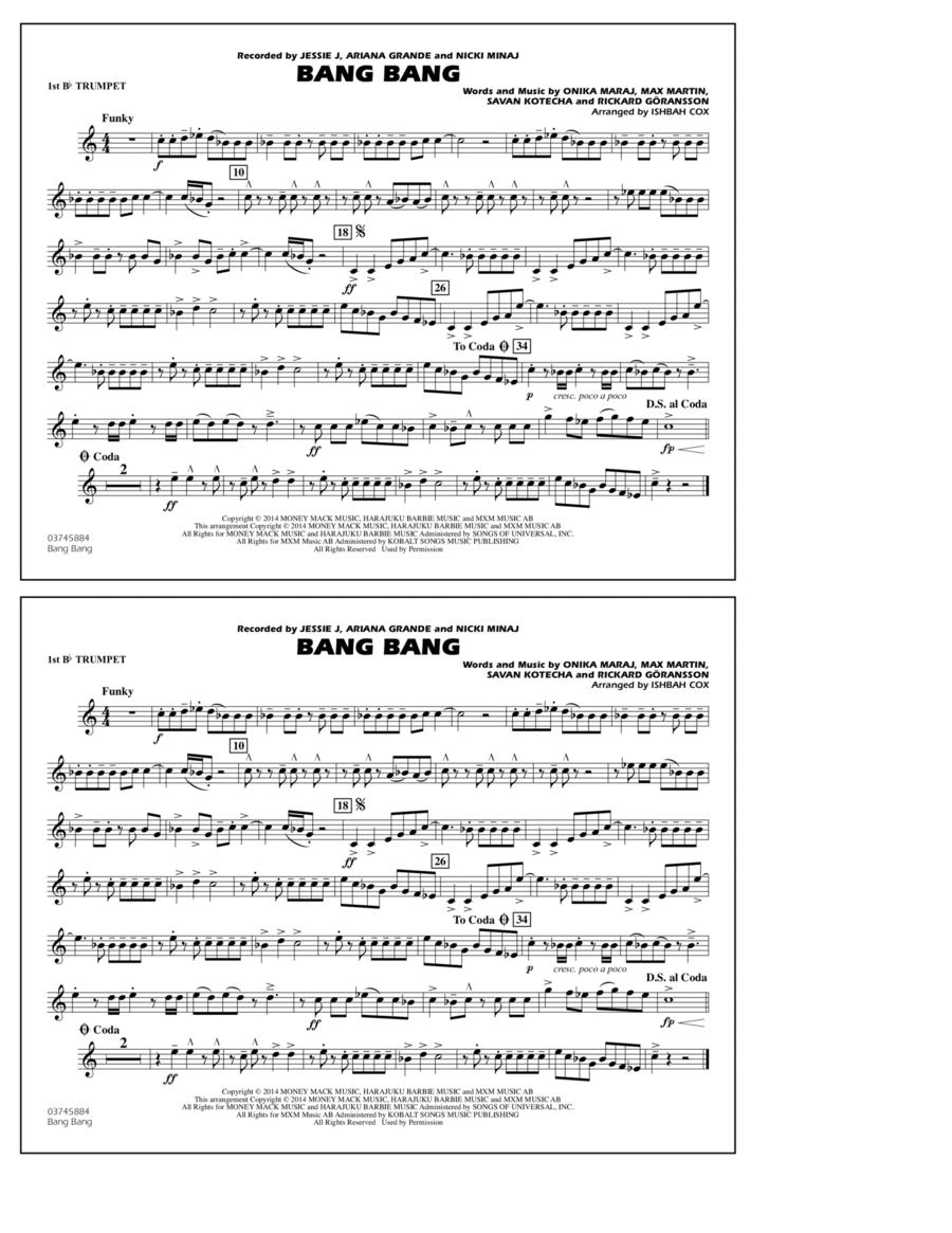 Bang Bang - 1st Bb Trumpet