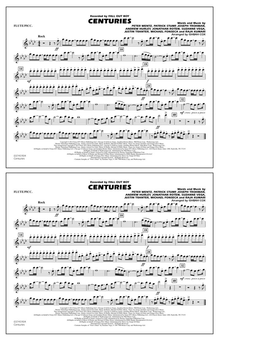 Centuries - Flute/Piccolo