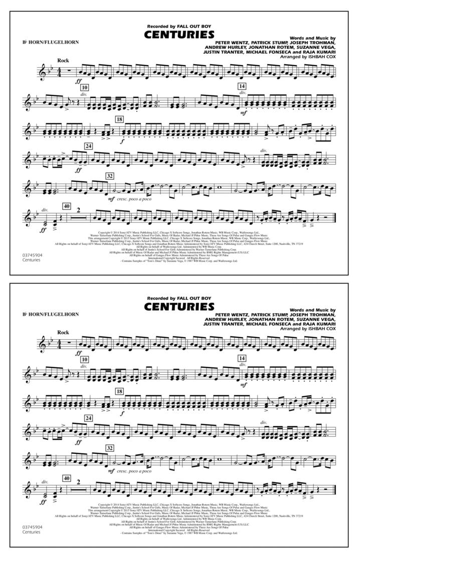 Centuries - Bb Horn/Flugelhorn