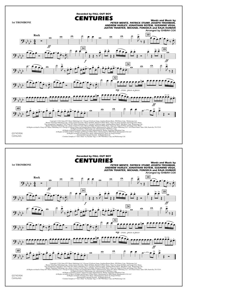 Centuries - 1st Trombone