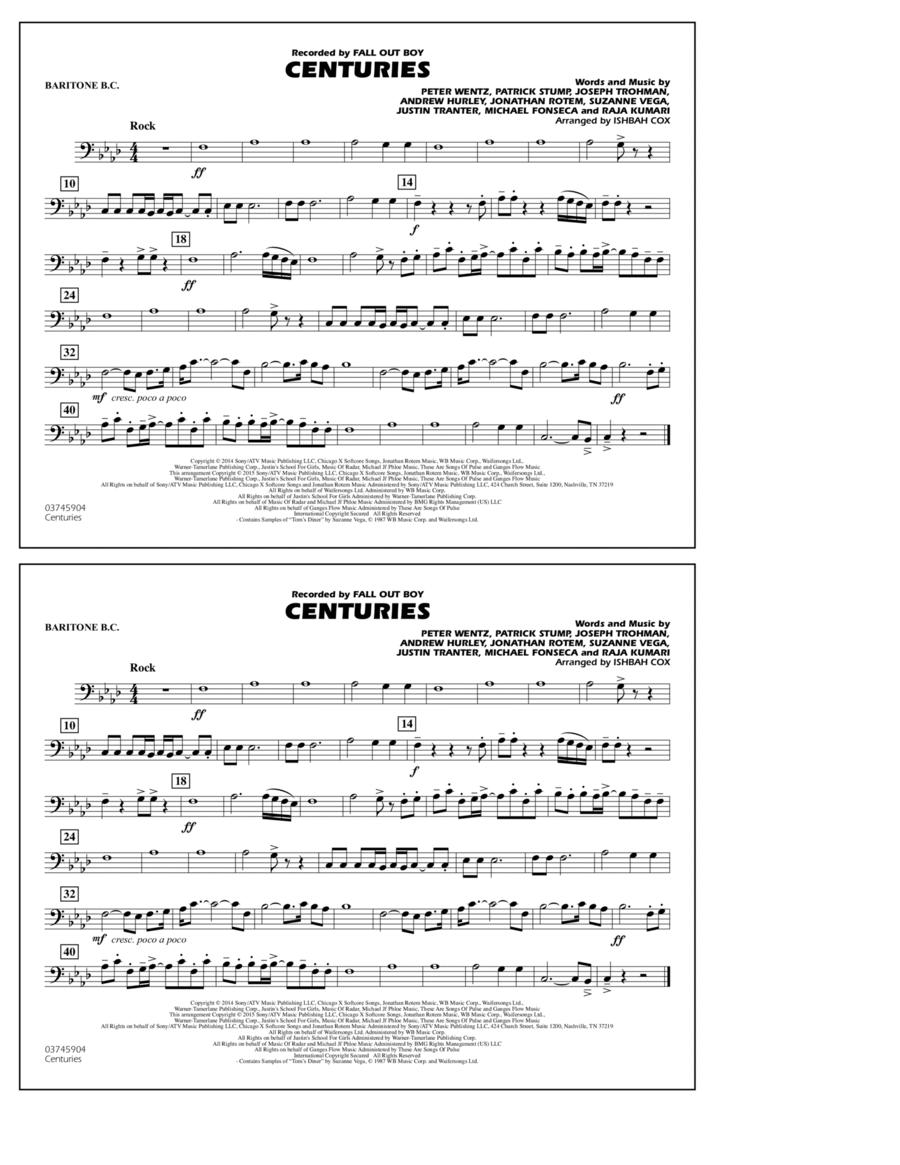 Centuries - Baritone B.C.