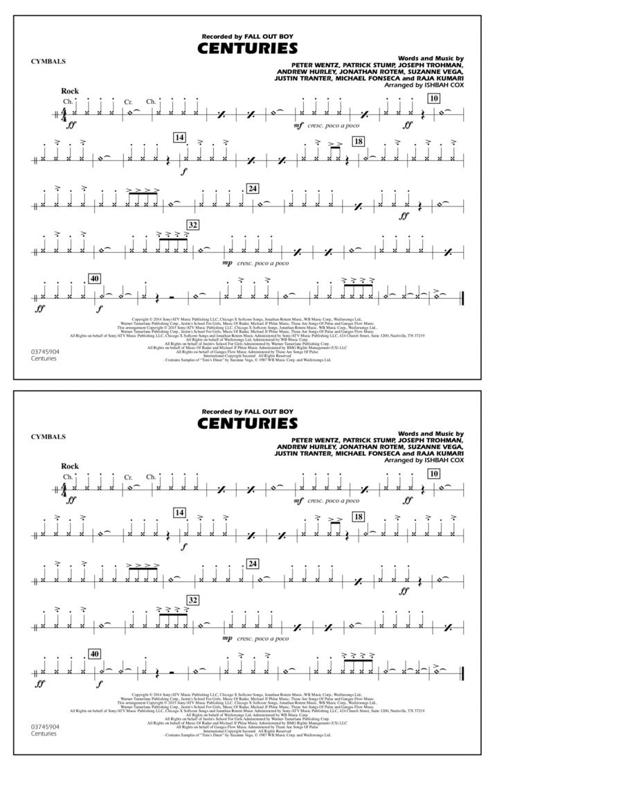 Centuries - Cymbals