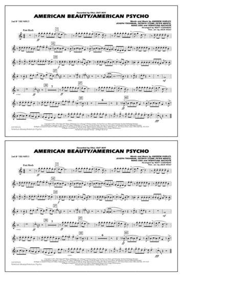 American Beauty/American Psycho - 2nd Bb Trumpet
