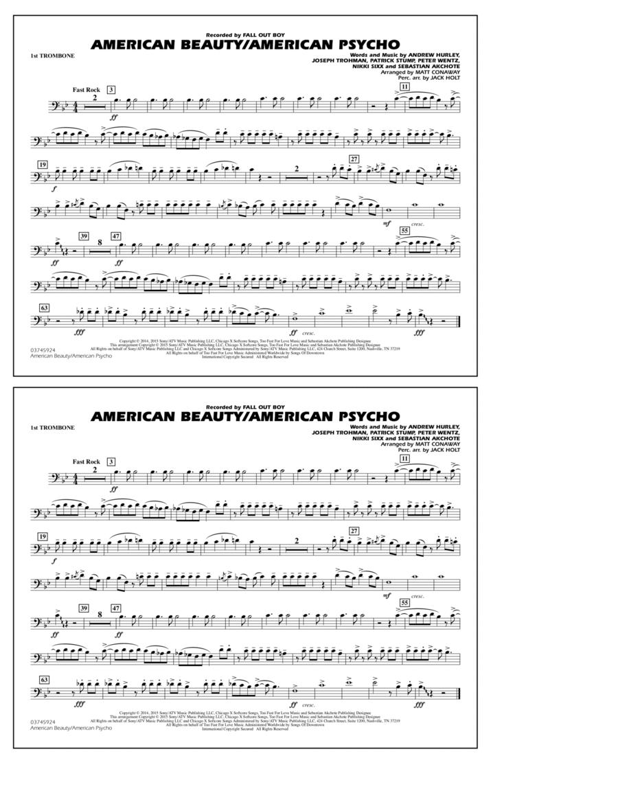American Beauty/American Psycho - 1st Trombone