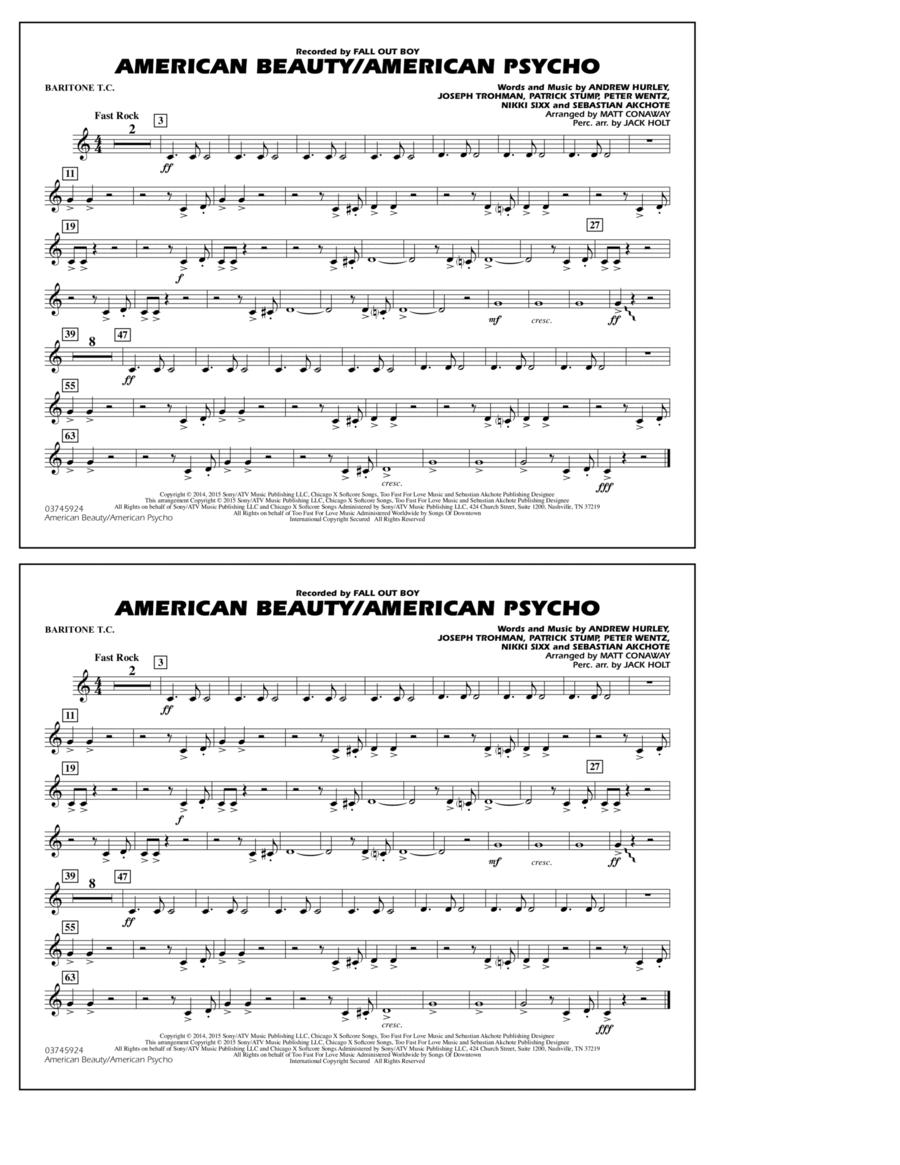 American Beauty/American Psycho - Baritone T.C.