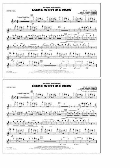 Come with Me Now - Flute/Piccolo