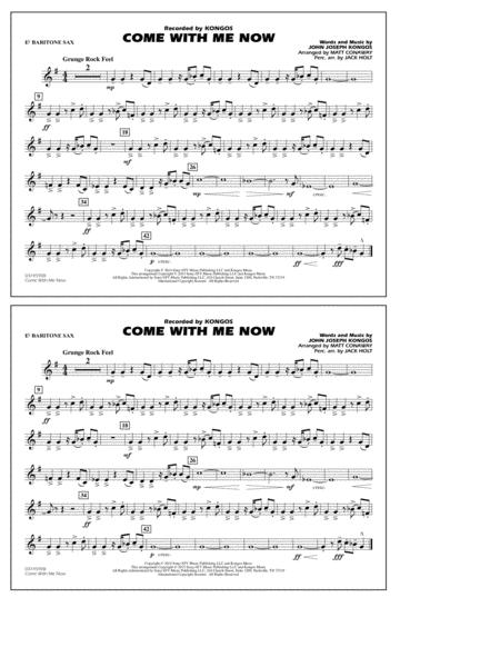 Come with Me Now - Eb Baritone Sax