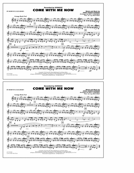 Come with Me Now - Bb Horn/Flugelhorn