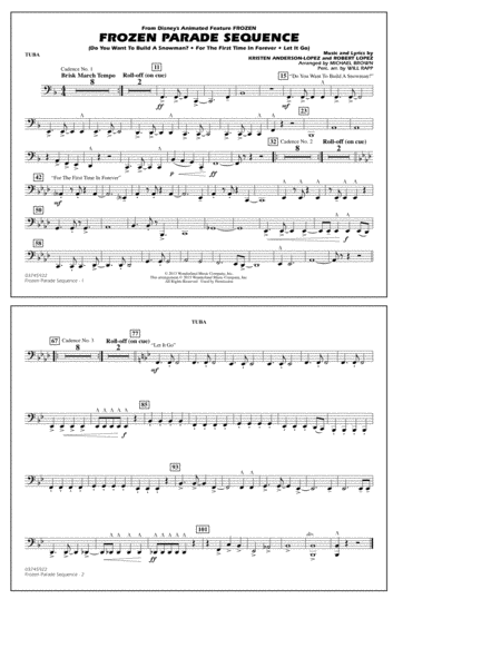 Frozen Parade Sequence - Tuba