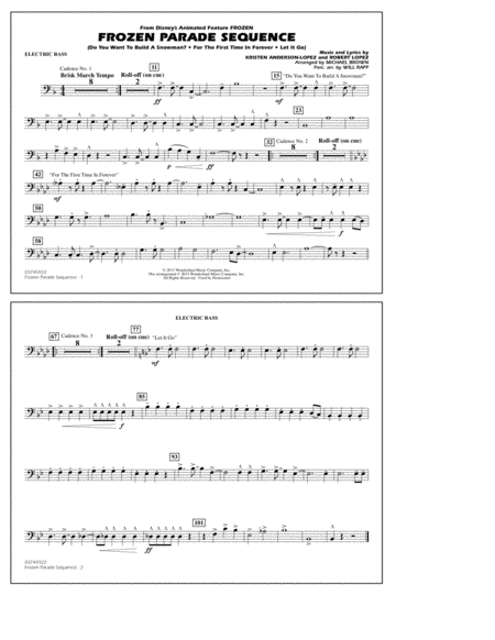 Frozen Parade Sequence - Electric Bass