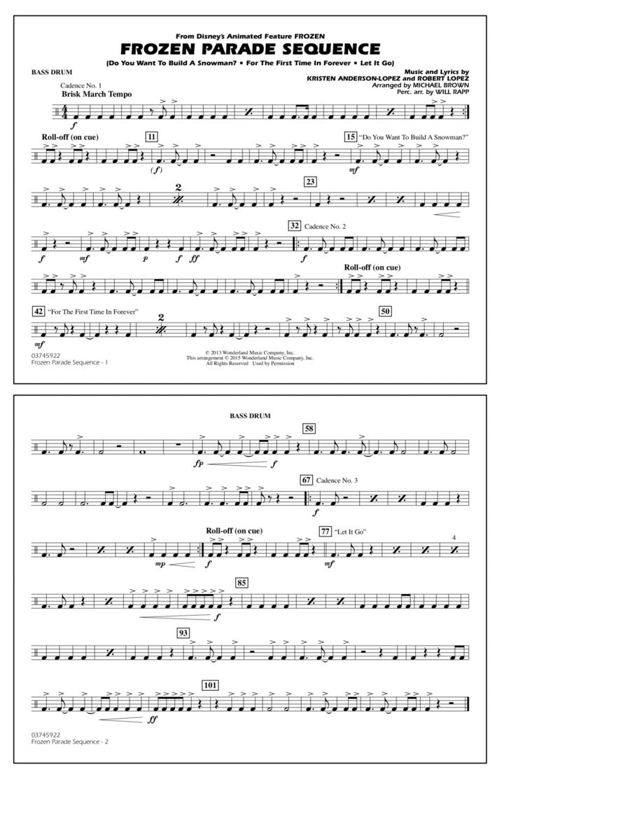 Frozen Parade Sequence - Bass Drum