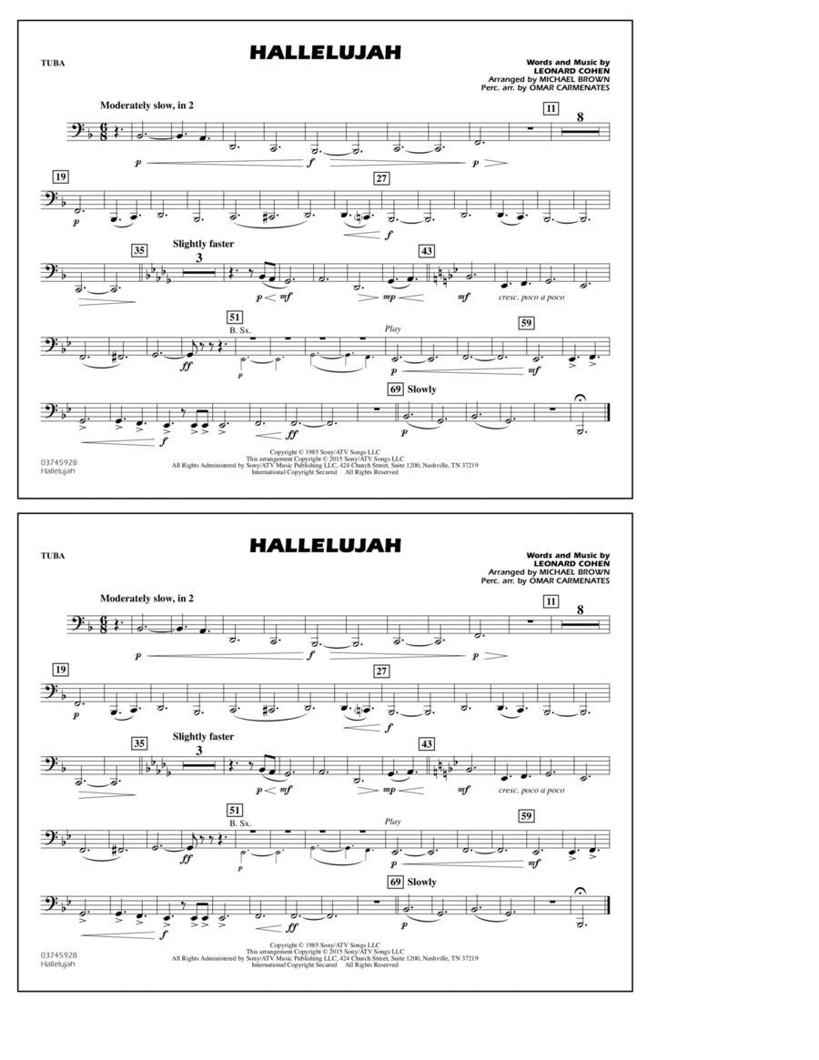 Hallelujah - Tuba
