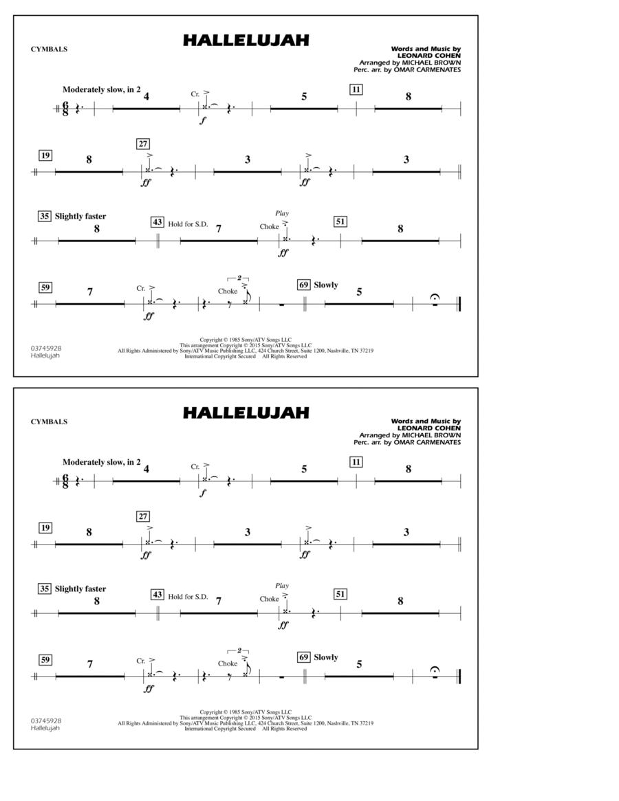 Hallelujah - Cymbals